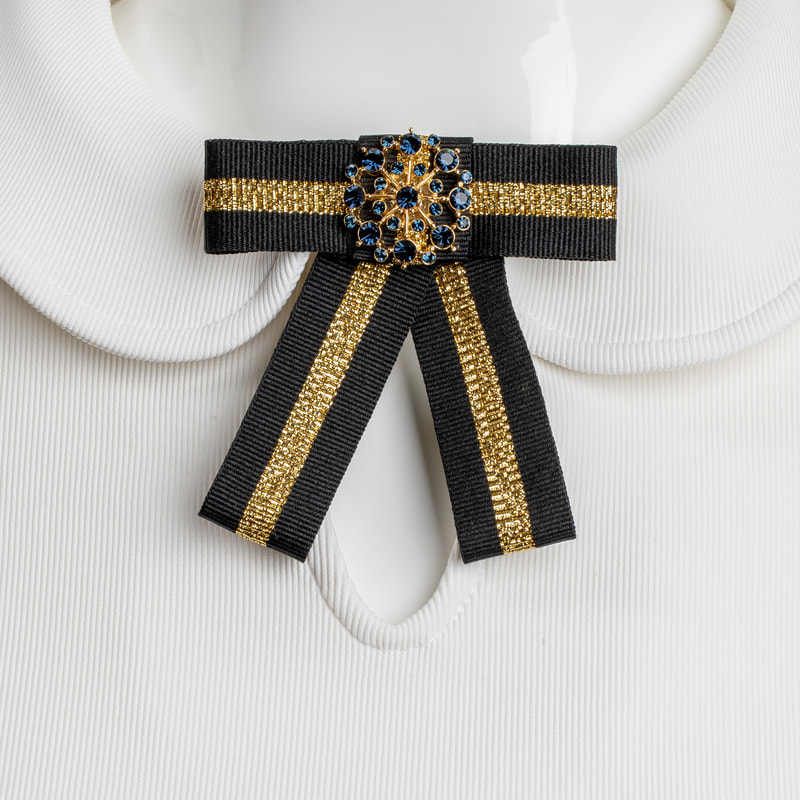 ANDOLSEK FASHION BROOCH ISHOPYELLOW